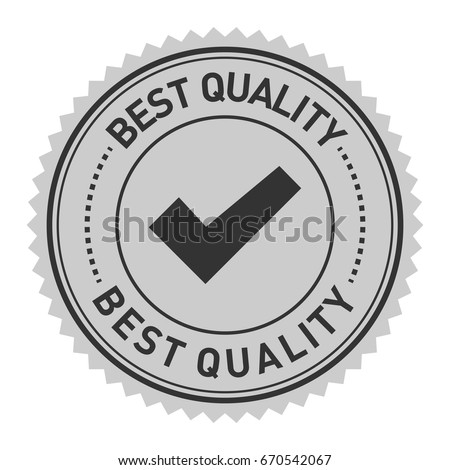 grey badge illustration vector