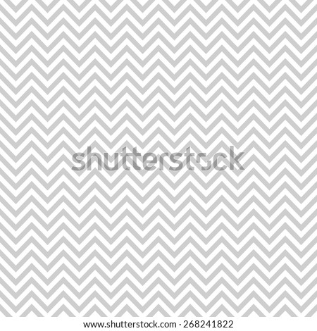 Grey Chevron Pattern - Shutterstock ID 268241822