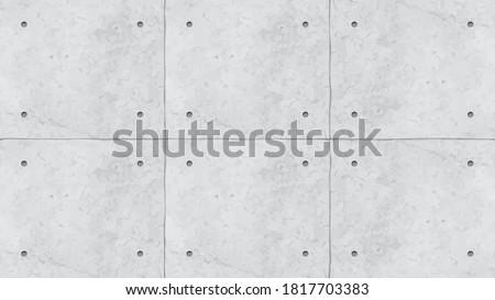 grey color concrete wall panels