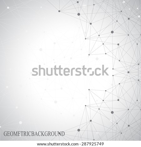 stock-vector-grey-graphic-background-dots-with-connections-for-your-design-vector-illustration