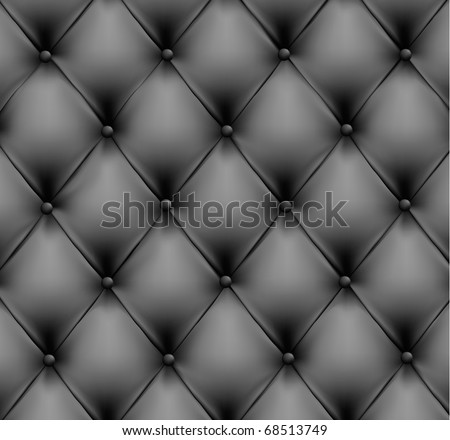 Grey leather background. Vector illustration.