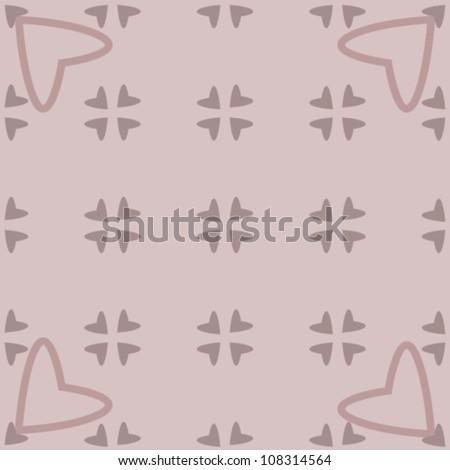 grey pink seamless geometric pattern