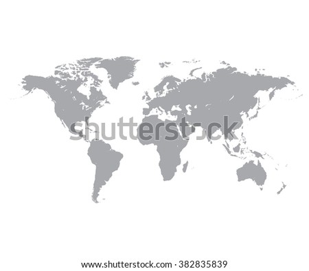 Mapa mundi vectorial descargue grficos y vectores gratis grey political world map white background gumiabroncs Choice Image