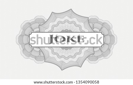 grey rosette  money style