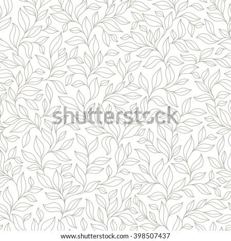 grey seamless autumn pattern