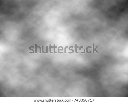 grey sky with clouds vector