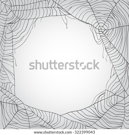 grey spider's web background