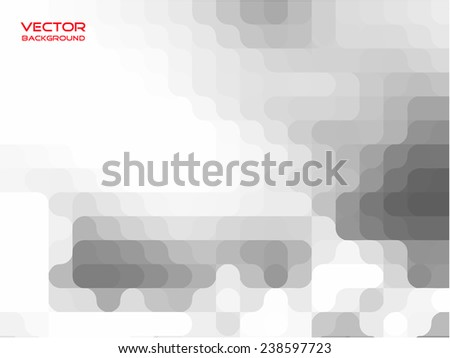grey white abstract vector