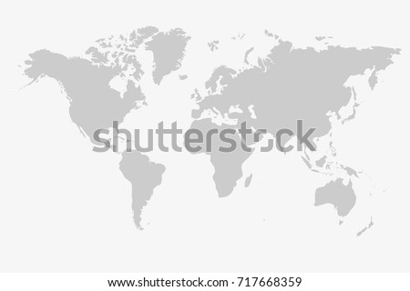 Worldmap silhouette free vector download free vector art stock grey world map vector isolated on white background graph worldmap template globe illustration gumiabroncs Gallery