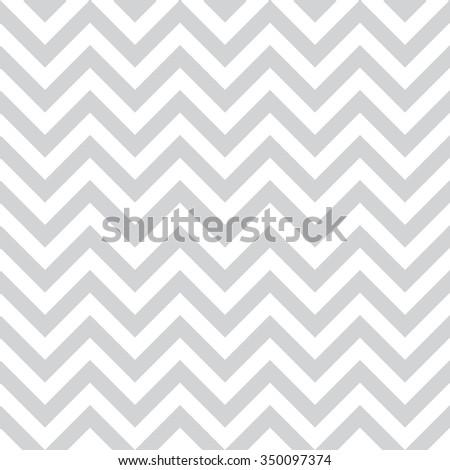 Grey zig zag seamless vector pattern