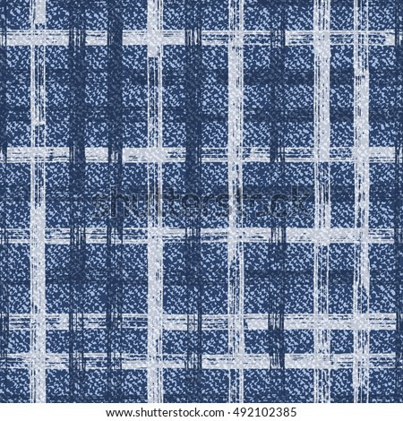 grid faded denim texture vector