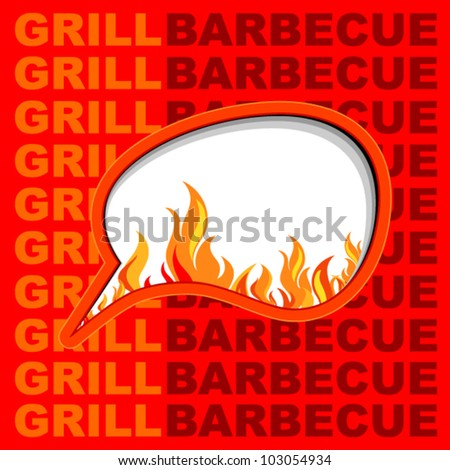 Grill background.