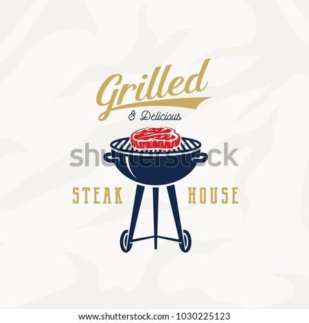 grill steak house vintage