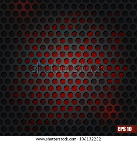 Grill texture. Vector Illustration