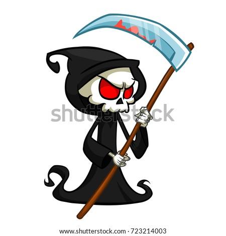 grim reaper cartoon character
