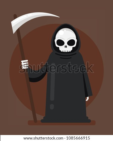 grim reaper death character