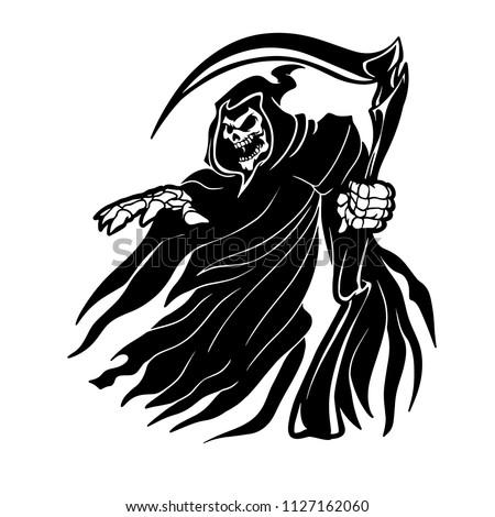 grim reaper ghost vapparition