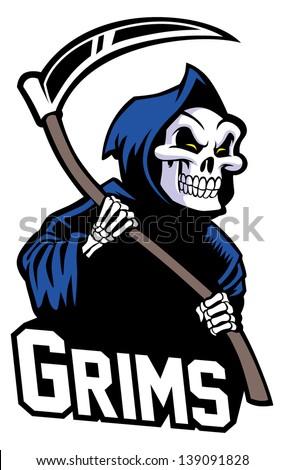 grim reaper mascot