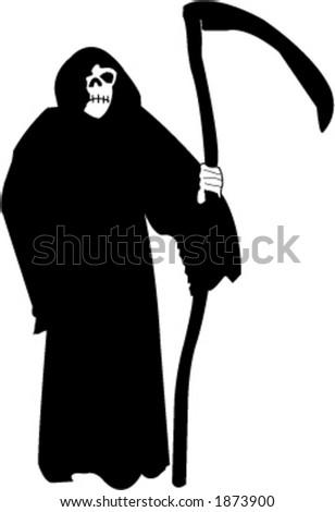 Grim reaper - vector