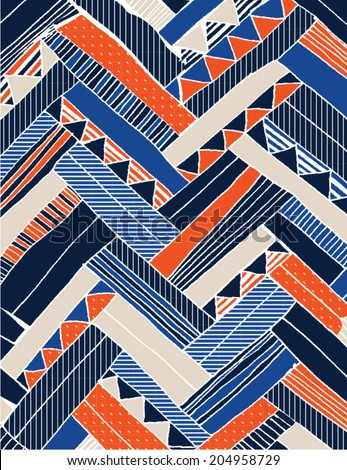 gritty chevron abstract