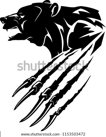stock-vector-grizzly-bear-rip-claw-mascot