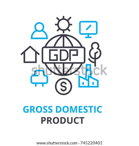 gross domestic product concept  ...