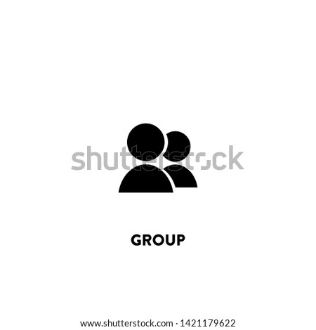 group icon vector. group sign on white background. group icon for web and app