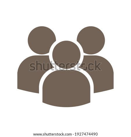 Group logo vector. Group icon for business, poster, web design, etc.