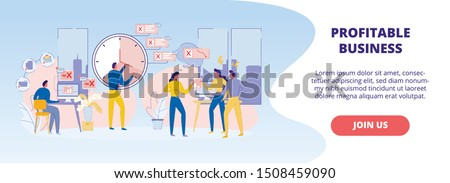 Group of Colored Cartoon Characters Accelerated In Time Trying to Catch Up on Lost Opportunities. Difficulties in Achieving Results. Complexity of Decision-making. Right Priorities in Work.