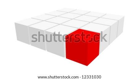 Group of cubes