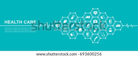 Group of elements flat icons in medicine, medical, health, cross, healthcare for background concepts vector illustration #693600256