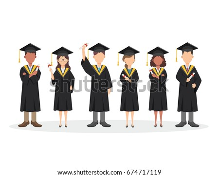stock-vector-group-of-graduating-students-standing-together-vector-people-illustration