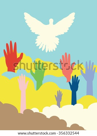 http://www.shutterstock.com/pic-356332544/stock-vector-group-of-hands-and-dove-silhouette-flat-illustration.html?src=pUilwcHH6-SYeOex-zsH3w-1-15