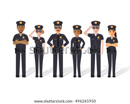 group of police officers