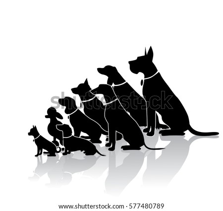 dog silhouettes download free vector art stock graphics images