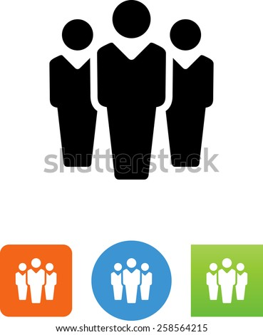Group of three people icon