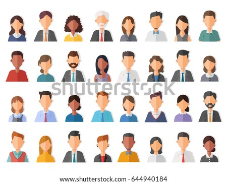 Group of working people diversity, diverse people multi ethnic variation casual.