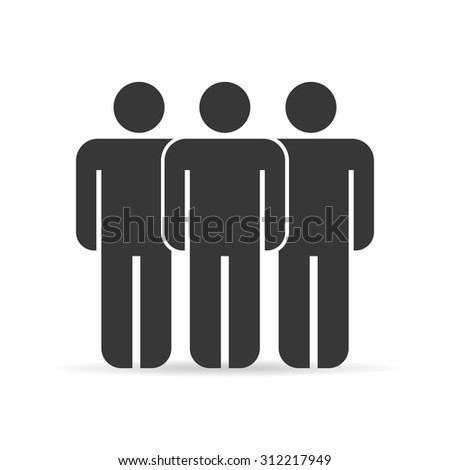 Group people icons