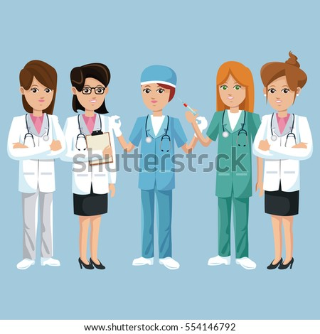 group staff medical health