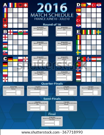 Group tables of european football championship 2016 stock - European football tables latest ...