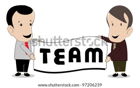 Group teamwork