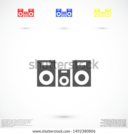 Group user Icon in trendy flat style isolated on white background.Group user Icon team silhouette symbol for your web site design Group user Icon