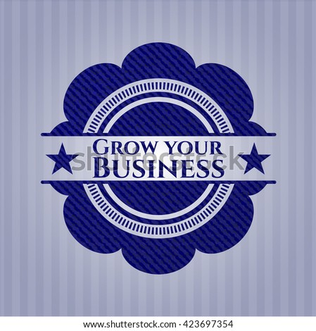 Grow your Business with denim texture