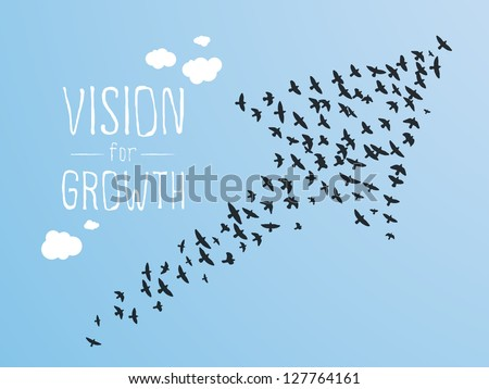 growth and vision illustration