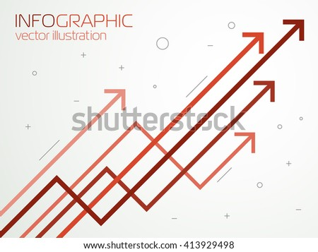 growth charts  vector