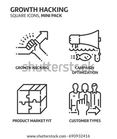 growth hacking  square mini
