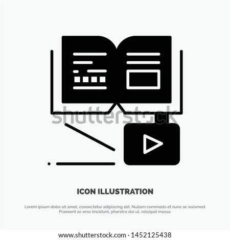 Growth, Knowledge, Growth Knowledge, Education Solid Black Glyph Icon