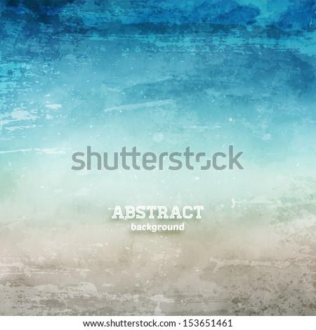 Grunge Abstract Background For Vintage Design