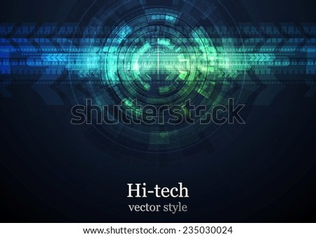 grunge abstract technology