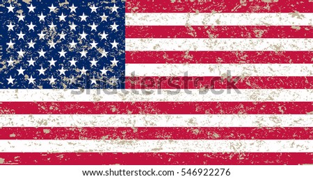 grunge american flagvector